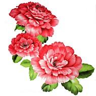 1 Tatouages Autocollants Séries de fleur Grande Taille Bas du Dos ImperméableHomme Femelle Adulte Adolescent Tatouage TemporaireTatouages