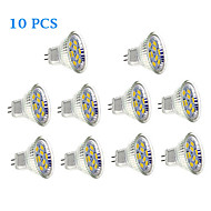 2W GU4(MR11) LED Spotlight 9 SMD 5730 150-200 lm Warm White Cool White DC 12 V