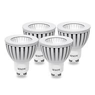 3W GU10 LED Spotlight MR16 COB 240-270 lm Warm White AC 100-240 V 4 pcs