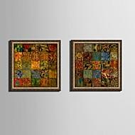 фантазия Холст в раме / Набор в раме Wall Art,ПВХ Золотой Без коврика с рамкой Wall Art