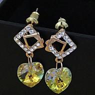 Stud Earrings Women's Alloy Earring Crystal/Cubic Zirconia