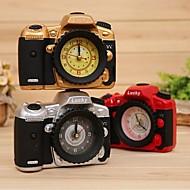 μόδα γραφείο στο σπίτι διακόσμηση κάμερα μοντέλο ξυπνητήρι δημιουργική δώρα τυχαία χρώμα