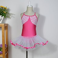 Kids' Dancewear Tutus / Dresses / Skirts Children's Cotton / Spandex / Tulle Sleeveless 110:50,120:53,130:56,140:59,150:61