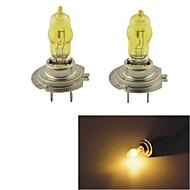 Carking ™ HOD H7 100W 2800K Ultra Bright автомобилей Желтый лампочки (DC 12V/Pair)