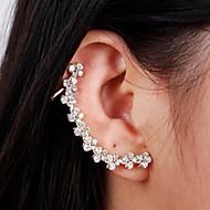 솔리테어 귀고리 여성용 합금 귀걸이