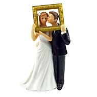 """toppers gâteau """"de tomber en amour"""" mariée& marié de gâteau"""