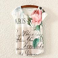 Women's Floral Print T-shirts