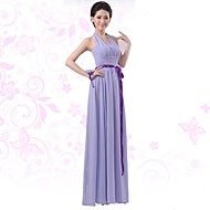 TS Couture® Cocktail Party Dress - Jade A-line V-neck Knee-length Chiffon