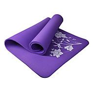 Tapis de Yoga ( Bleu , pvc ) 10