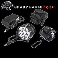 Sharp Eagle® Headlamps 10800LM Lumens 3 Mode Cree XM-L2 U2 18650 Waterproof / RechargeableCamping/Hiking/Caving / Everyday Use /