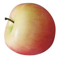decorativo fruta maçã, 2pcs / set