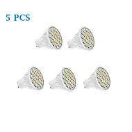 5W GU10 LED bodovky 20 SMD 5050 320 lm Teplá bílá / Chladná bílá AC 220-240 V 5 ks