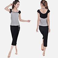 ternos novos ceia chegada de algodão macio de yoga com calças