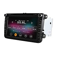 "8 ""2 DIN 1024 * 600 bil dvd-afspiller til Volkswagen Jetta golf polo quad core android 4.4.2 gps 2g ram + 16g flash"