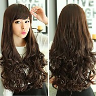 Wavy Curly Lolita Natural Looking Charming Glamour Hair Full Wigs