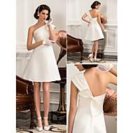 Lanting Bride® A-line / Princess Petite / Plus Sizes Wedding Dress - Classic & Timeless / Chic & Modern / Reception Simply Sublime