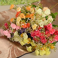 "13.8""L Set of 1 Korea 5 Limbs Carnation Silk Cloth Flowers"