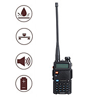 "baofeng uv5r 1,5 ""lcd 5W 136 ~ 174MHz / 400 ~ 480MHz dual-band walkie talkie met 1-LED zaklamp (us plug)"