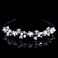 Women Alloy Headbands With Imitation Pearl/Rhinestone Wedding/Party Headpiece