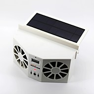 2W Solar Powered Car Air Vent Cooling Fan
