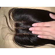 Ίσιο - Καφέ Hair Extension - από Ανθρώπινη Τρίχα - για Γυναικείο