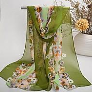 Shawls Chiffon/Polyester Elegant Print Scarves(More Colors)