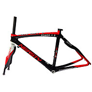 Neasty Brand 700C Full Carbon Fiber Bike Frame and Fork 3K/12K Weave 50/52/56CM