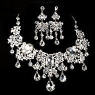 Women's Alloy/Rhinestone Wedding/Party Jewelry Set