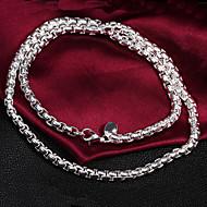 Women's Fashion Temperament Statement 925 Silver Necklace-N053