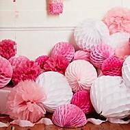 Gyöngyház fényű papír Esküvői dekoráció-4Piece / Set Tavasz / Nyár / Ősz / Tél Nem személyesíthető