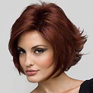 אישיות פאת אופנת יין יפה שיער קצר אדום
