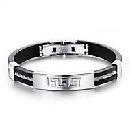Men's Men's Bracelet Stainless Steel Non Stone