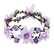 Women/Flower Girl Foam Flowers With Wedding/Party Headpiece Flower headband