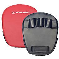 winmax® outdoor zwart / rood boksen peddel doelgroep / hand de focus mitt
