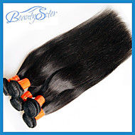 "10Pcs 1Kg Lot Wholesale Cheap Virgin Malaysian Straight Hair 10""~28"" 6A Unprocessed Human Hair Extensions Color1B"
