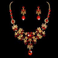 Women's Rhinestone  Wedding Jewelry Set