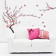 Wall Stickers Wall Decals, Flourishing Plum Blossom PVC Wall Stickers