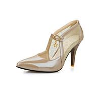 Women's Shoes  Kitten Heel Heels/Pointed Toe Pumps/Heels Office & Career/Dress Green/Pink/White/Beige