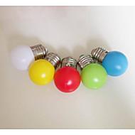 色E27電球0.33ワットプラスチックランプシェードランタン専用の常夜灯を導いた(AC220V)