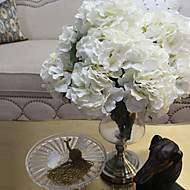 "19.7""L White Large Hydrangea For Home Decorative"