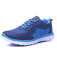 Men's Spring / Summer / Fall / Winter Comfort / Round Toe / Closed Toe Fabric Lace-up Blue / Green Running