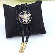 Men Party/Casual Nylon/Other Simple Eagle Bolo Neck Tie