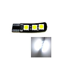 2.5W 12V T10 6SMD 5050 CANBUS LED Car Lamp