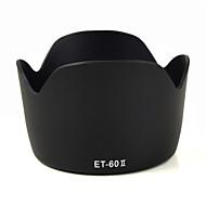 mengs® et-60 ii kronblad form modlysblænde til Canon EF 75-300mm f / 4-5.6 III, EF-S 55-250mm f / 4-5.6 er