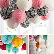Wedding Décor 4 pcs 8 Inch (20cm)  Honeycomb Tissue Paper Flower Ball for  Party Decoration(More Colors)