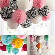 bryllup dekor 4 stk 8 tommer (20cm) honeycomb silkepapir blomst ball for partiet dekorasjon (flere farger)