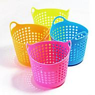 kreativní Domácí potřeby mini desktop mesh skladování koš organizátor boxy (ranodm barva)
