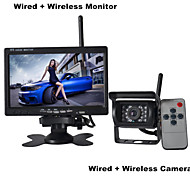 7 Inch Monitor Wireless 170°HD Bus Car Rear View Camera + Bus High-Definition Wide Angle Waterproof CMD Camera