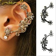 Ear CuffsJewelry 1pc Bronze / Silver Alloy Wedding / Party / Daily / Casual