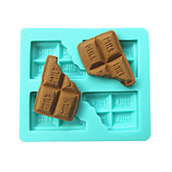 Milk Chocolate Shape Fondant Cake Molds Chocolate Mould For The Kitchen Baking Sugar Cake Decoration Tool